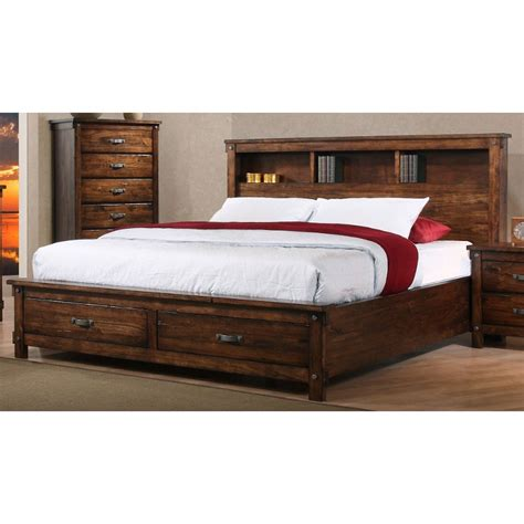 storage king bed jessie king storage bed