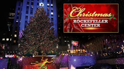 rockefeller center tree lighting live stream watch online