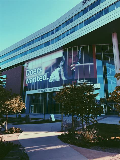 Eccles School Of Business Mba by Eccles School Ranks No 45 For Business Programs In U S News
