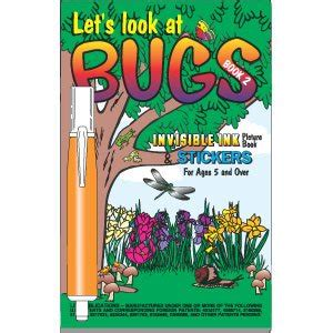 Lets Ify The Look Book by Let S Look At Bugs Invisible Ink Book And Pen