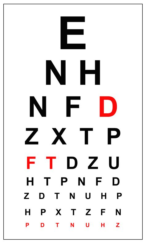 large printable eye chart image gallery eye chart