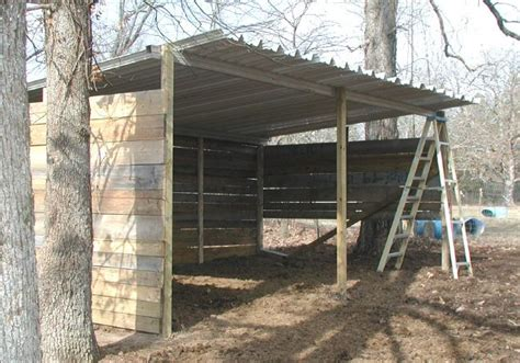 loading shed loafing shed shed plans farm layout