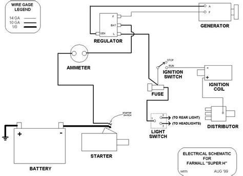Farmall Cub 12 Volt Wiring Diagram Online Wiring Diagram