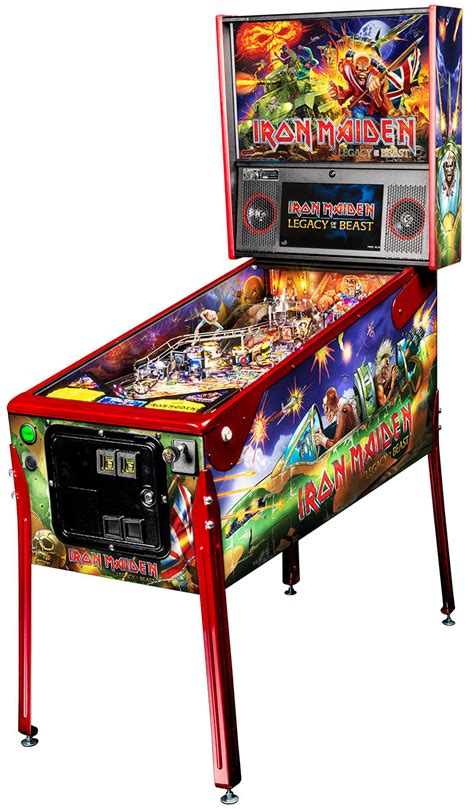 New Homemaiden Collection by Iron Maiden Premium Pinball Machine For Sale Uk