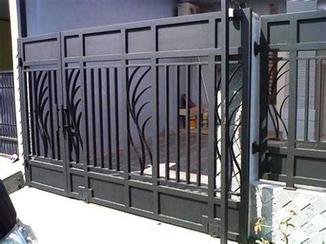 Foto Dan Ranjang Besi 28 model pagar besi rumah minimalis sederhana hollow tempa stainless steel