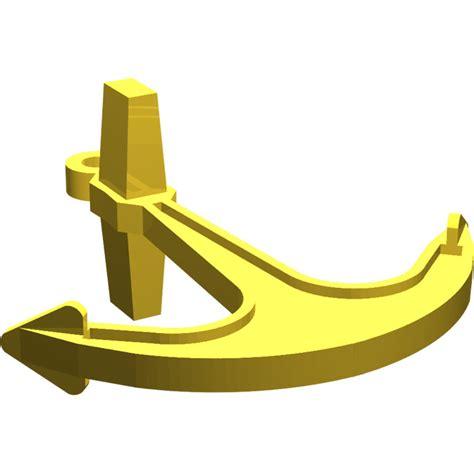 lego yellow boat lego boat anchor 2564 brick owl lego marketplace