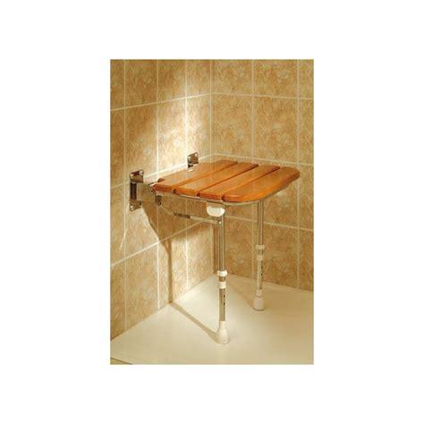box doccia legno pieghevole sedile legno doccia ad529