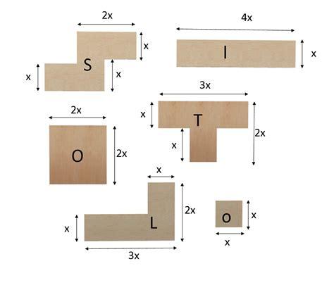 scaffale su misura schiena per tetris in betulla