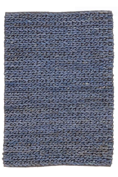 Blue Woven Rug by Jute Woven Blue Rug Cottage Home 174