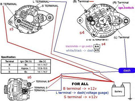 fd alternator   wiring problems    rxclubcom mazda rx forum