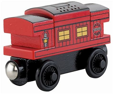 Brio Caboose friends fisher price wooden railway musical