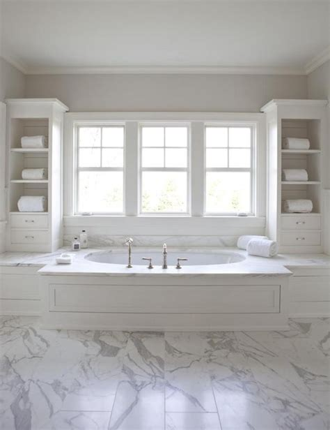 White Marble Bathroom Ideas by 29 White Marble Bathroom Floor Tile Ideas And Pictures