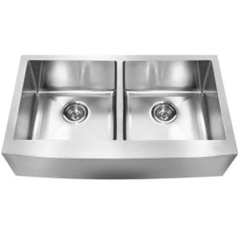 Franke Farmhouse Undermount Stainless Steel 33x19x9 0 Hole