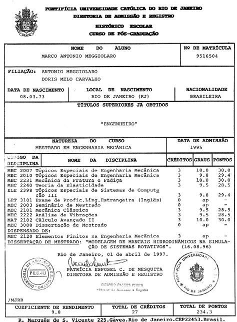 Curriculum Vitae - Marco Antonio Meggiolaro