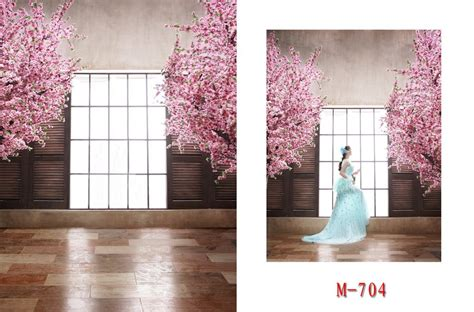 children photography backdrops 5x7ft photo background peach blossom children wedding