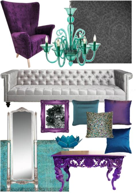 Peacock Color Living Room by Quirk It Design Colors Of Peacock