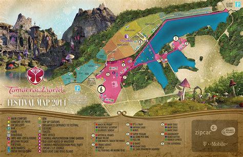 Aria Las Vegas Floor Plan by Tomorrowworld 2014 Festival Map The Scene Is Dead