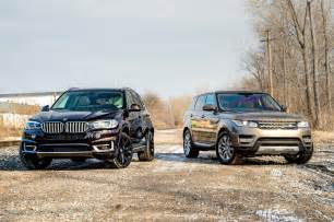 electric or diesel bmw x5 xdrive40e vs range rover sport