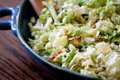 napa salad napa cabbage salad with buttermilk dressing recipe dishmaps