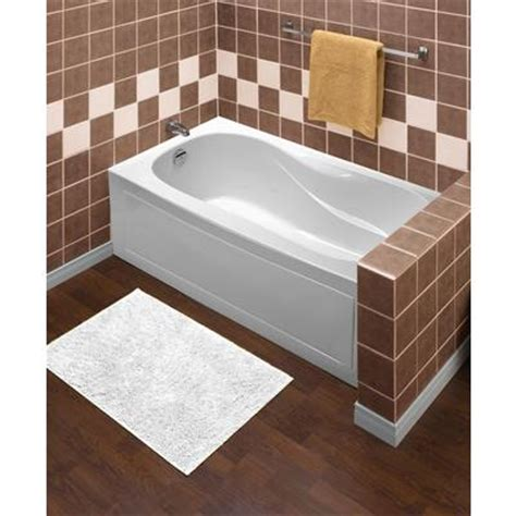 mirolin sydney acrylic skirted tub 60 inch x 30 inch