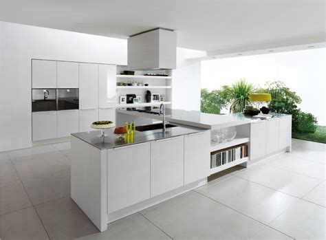 White Contemporary Kitchen Cabinets by 30 Contemporary White Kitchens Ideas Modern Kitchen