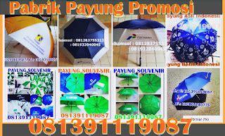 Produsen Payung Terbalik distributor payung hujan polos sablon payung promosi murah