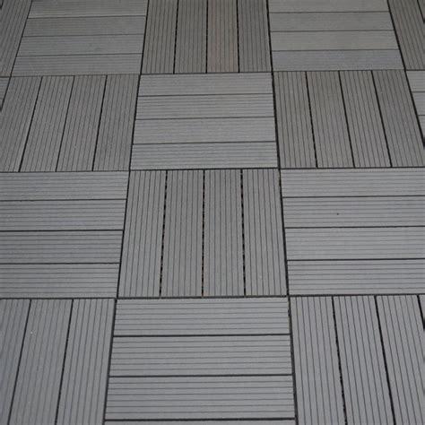 Kunststoff Bodenfliesen Balkon by Wpc Balkon Bodenfliesen Bambus Kunststoff 10er Braun