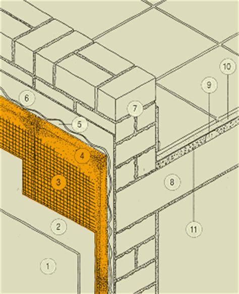 rasatura muro interno isolamento terrazze isolanti da costruzioni materiali da