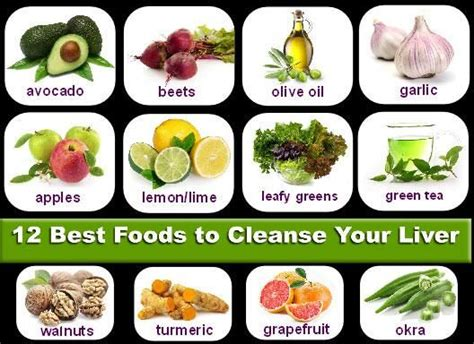 When To Detox Your Liver by 12 Best Foods To Cleanse Your Liver Pic