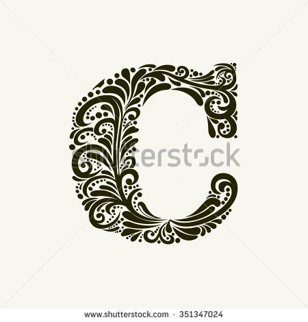 monogram letter c stock images royalty free images