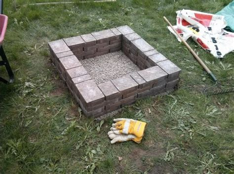 pit square how to build square pit in your backyard all design