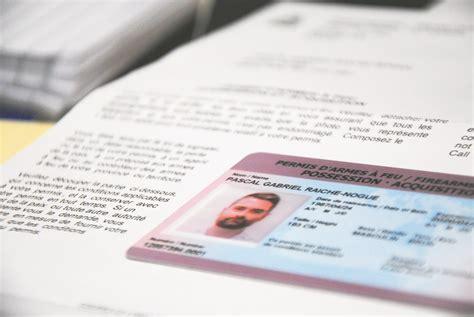 permis d arme obtenir un permis mais simple comme bonjour