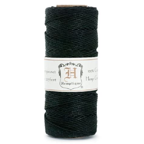 with hemp cord hemp cord spool 1mm black