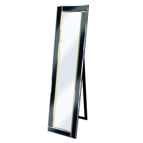 free standing cheval mirror with led lights
