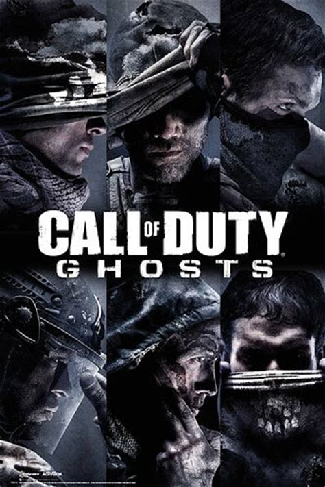 Call Of Duty 61 maxi p 243 ster call of duty ghosts quot personajes quot 61x91 5cm