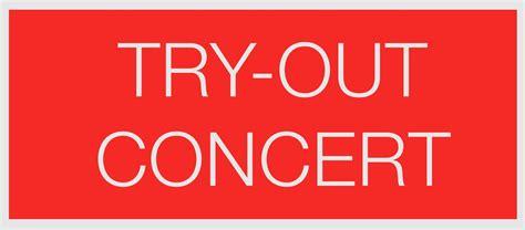 Tries Out by Try Out Concert Belgisch Brassband Kioenschap
