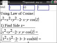 trigonometry made easy step by step with the ti nspire
