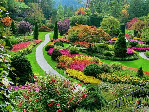 Quot Butchart Gardens Victoria Canada In Autumn Quot By Garden Flowers Vancouver