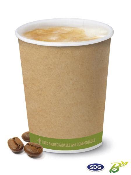bicchieri caffè sdg bicchiere 300ml caffe pla biodegradabile fast food