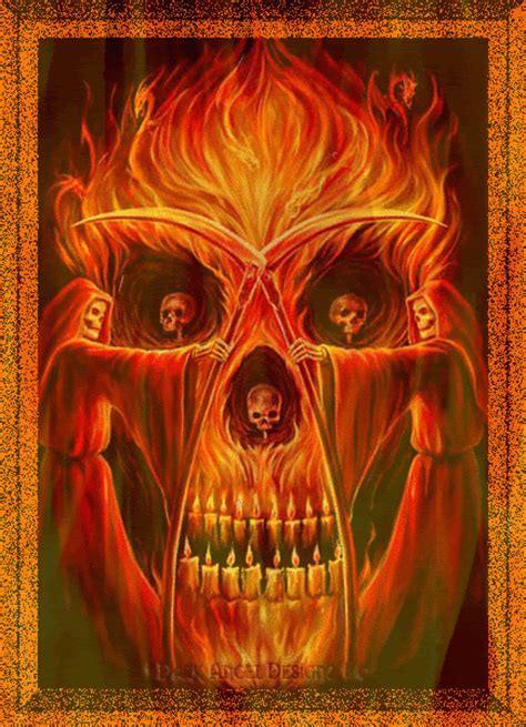 imagenes perronas santa muerte fire gif find share on giphy