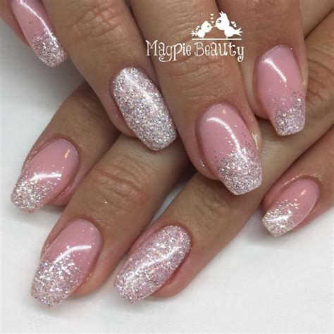 gelish nail designs new year 25 best ideas about shellac nails glitter on