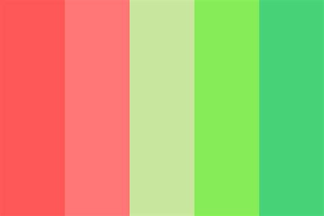 apple green color apple green and watermelon pink color scheme buttercream