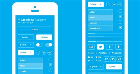 mobile app layout template 50 free wireframe templates for mobile web and ux design
