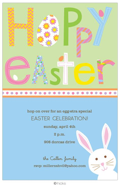 easter invitation templates easter invitations theruntime