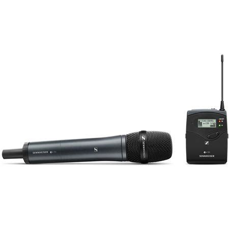 Mic Wirelles Sennheiser Ew 135 G4 sennheiser ew 135 p g4 handheld set a1 470 516 mhz