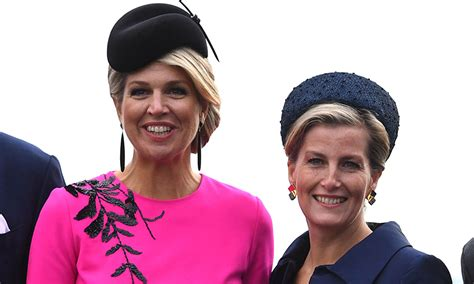 queen maxima   netherlands  stunning  bright pink