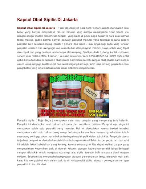 Obat Arv Di Indonesia kapsul obat sipilis di jakarta