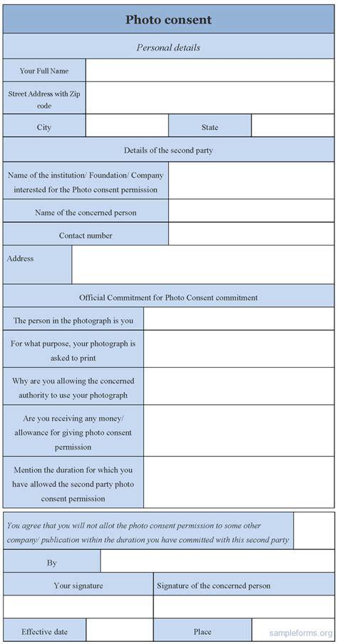 photograph consent form images