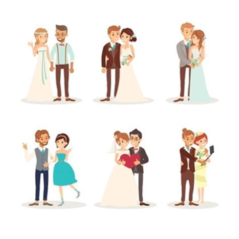 wedding dress vectors, photos and psd files | free download
