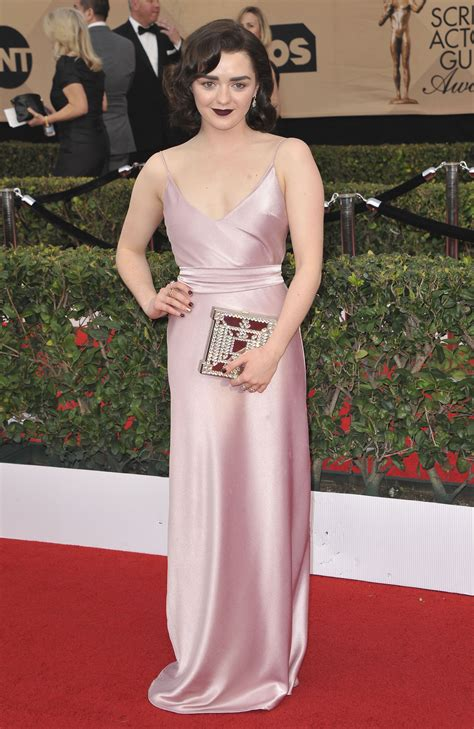 Screen Actors Guild Awards Williams by Maisie Williams 23rd Screen Actors Guild Awards 4 Satiny